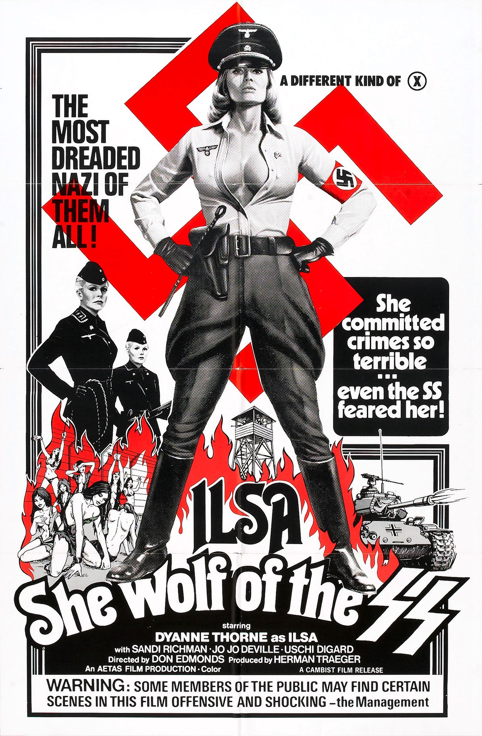 Ilsa: She Wolf Of The Ss Erotik Film İndir